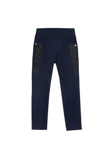 Neckermann Kinder legging - donker blauw