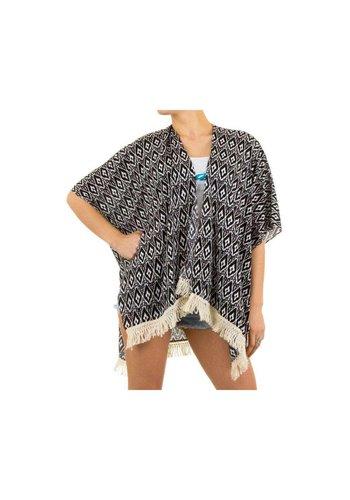 Best Fashion Dames Tunika van Best Fashion Gr. one size -zwart