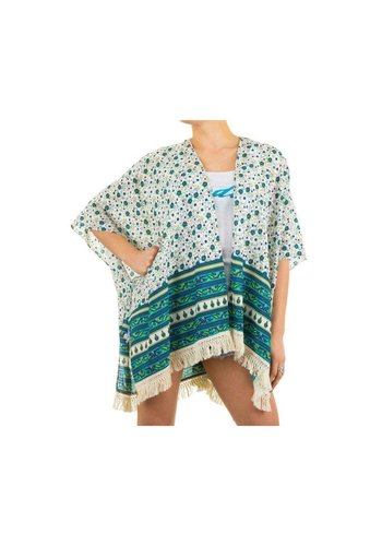 Best Fashion Dames Tunika van Best Fashion Gr. one size - groen
