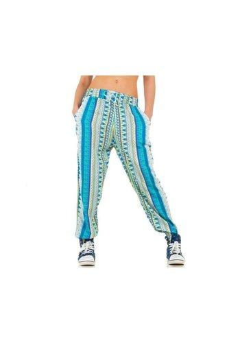 Best Fashion Dames broek van Best Fashion - blauw