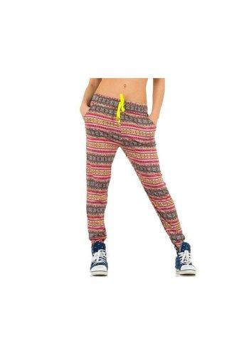 Best Fashion Pantalons pour dames de la meilleure mode - Jaune