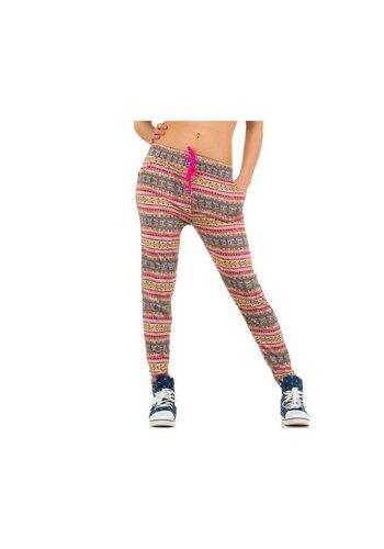 Best Fashion Pantalons pour dames de la meilleure mode - Rose
