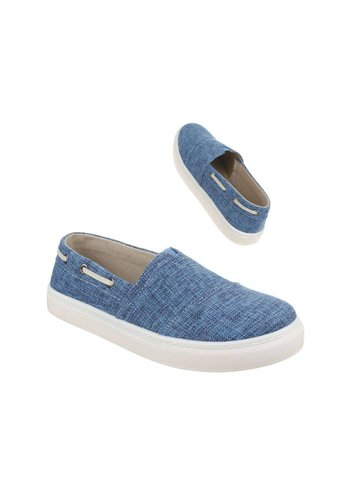 KADIMAN Chaussures décontractées pour hommes - bleu