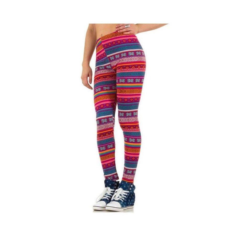 Damen Leggings von Best Fashion Gr. one size - multi