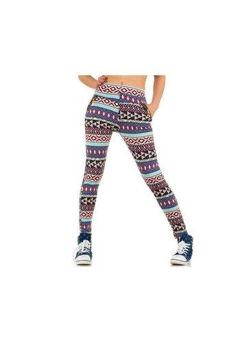 Best Fashion Damen Leggings von Best Fashion - multi