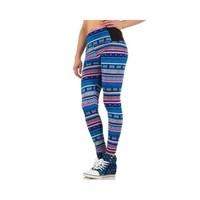 Damen Leggings von Best Fashion - blue