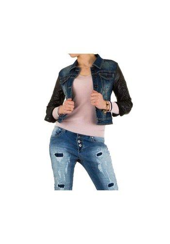 Neckermann Dames spijkerjas van Mozzaar - donker blauw