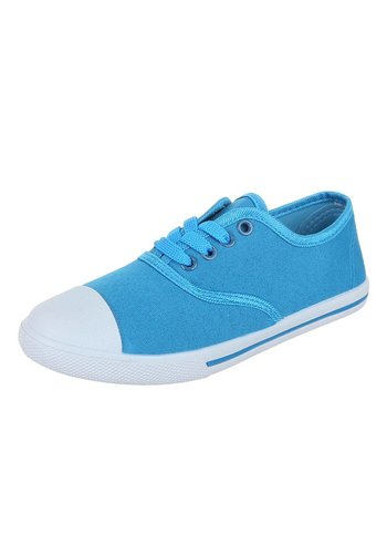 NO NAME Dames Sneakers Licht Blauw