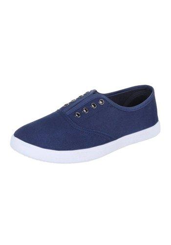 JUSTINE SHOES Chaussures pour femmes  -Bleu marine