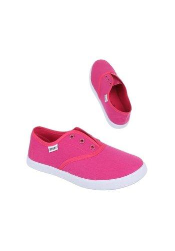 COMET Chaussures décontractées pour enfants - fuchsia
