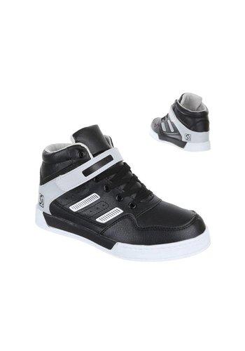 COMET Kinder sportschoenen - Zwart Grijs