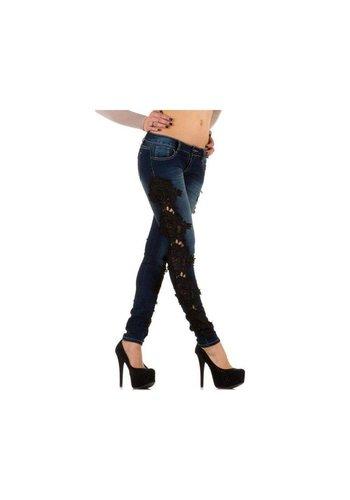 Mozzaar Damen Jeans von Mozzaar - DK.blue