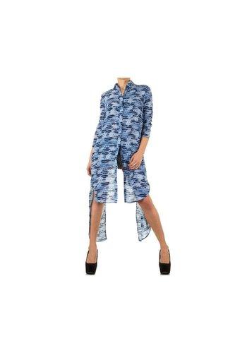 Neckermann Dames Tunika - blauw