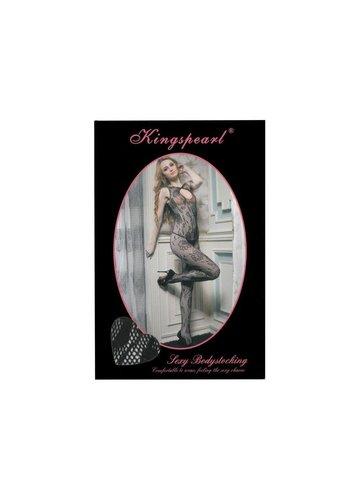 KINGSPEARL Dames Panty  van Kingspearl one size - Zwart