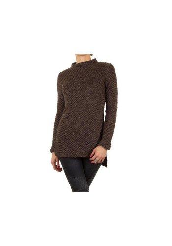 Neckermann Dames pullover - taupe