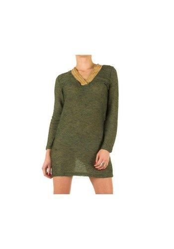 Neckermann Dames jurk - groen