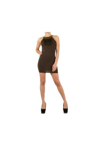Neckermann Damen Kleid - khaki
