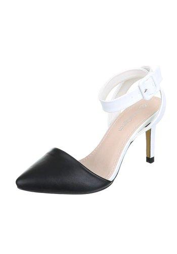 MODEQUEEN Damen Sandaletten - black