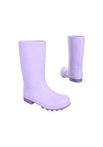 Neckermann Bottes de pluie pour enfants - lila