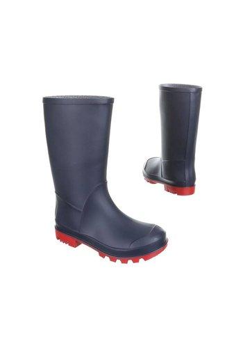 Neckermann Bottes de pluie pour enfants - bleu foncé