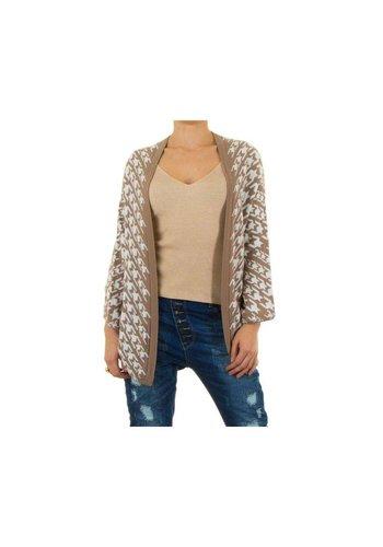 Neckermann Dames vest one size - beige