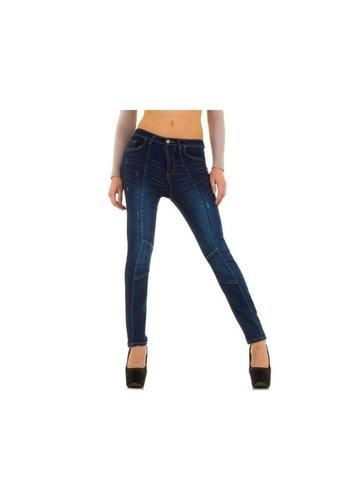 Blue Rags Dames Jeans van Blue Rags - DK.Blauw