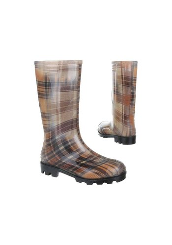 Neckermann Dames Rubber Boots- Geruit