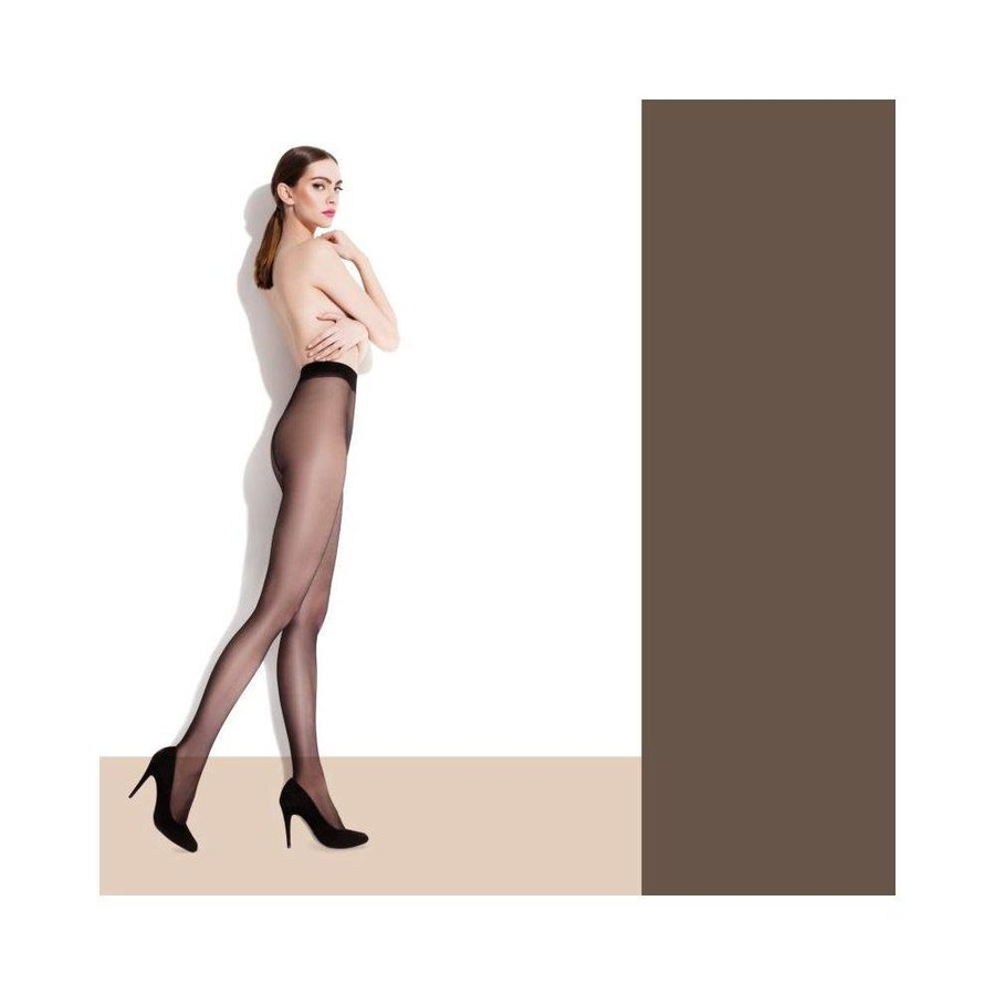 Damen Strumpfhose von Fiore - mocca