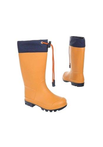 Neckermann bottes de pluie pour enfants - orange