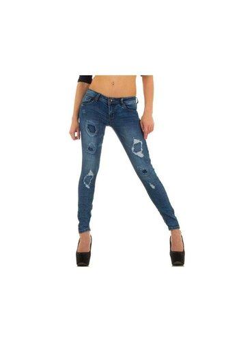 SD JEANS Dames Jeans van Sd Jeans - blauw
