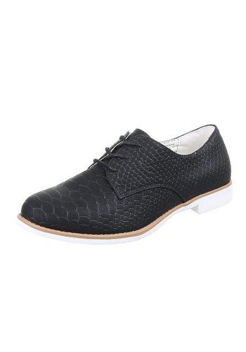 SDS Dames geklede schoenen Zwart