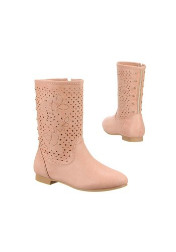 LUCKY SHOES Kinder Stiefel - pink²