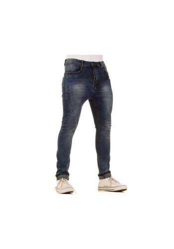 ORIGINAL ADO Heren Jeans van Original Ado  - Blauw