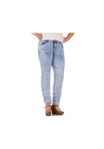 BBS JEANS Dames Jeans van Bbs Jeans  - licht blauw