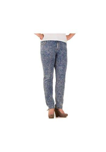 BIG SPADE Damen Jeans von Big Spade  - L.blue²