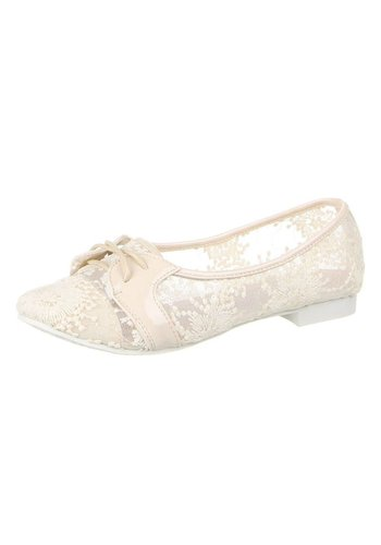 JULIET Dames Ballerinas - beige