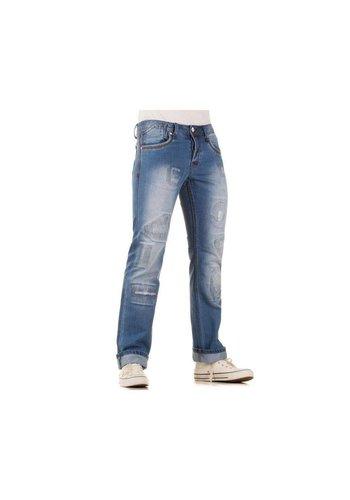 ORIGINAL ADO Heren jeans van  Ado  - blauw
