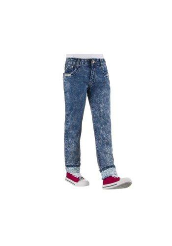 NOVO STYLE Kinder Jeans van Novo Style - donker blauw²