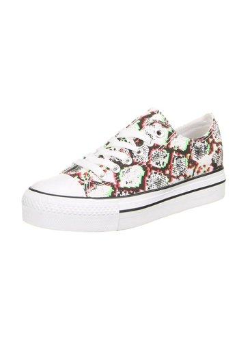 BEAUTY GIRLS Dames Sneakers Rood