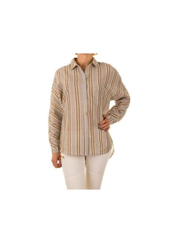 Neckermann Dames Blouse- beige²