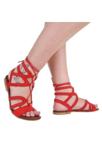 Neckermann Dames Sandalen - rood