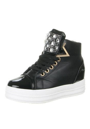 JULIET Dames sneakers Zwart