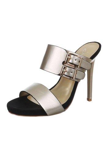 Neckermann Damen Sandaletten - gold