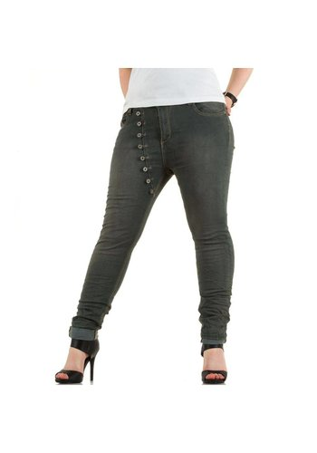 Mozzaar Damen Jeans von Mozzaar - grey
