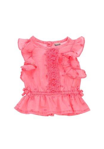 Tape A loeil Kinder jurkje - roze