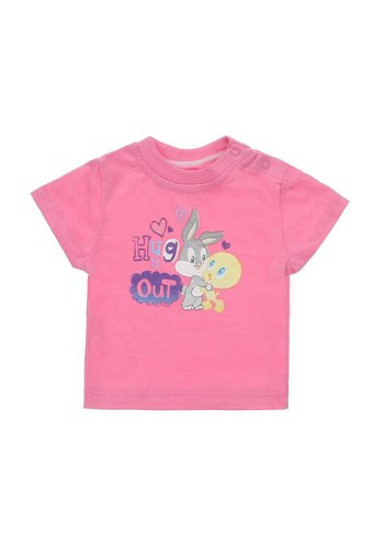 Looney Tunes Kinder t-shirt - roze
