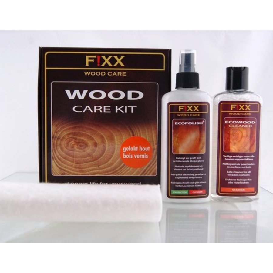 Holzpflegeset für lackiertes Holz  2x 200 ml