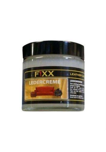 FiXX  Pot de crème en cuir naturel 150 ml