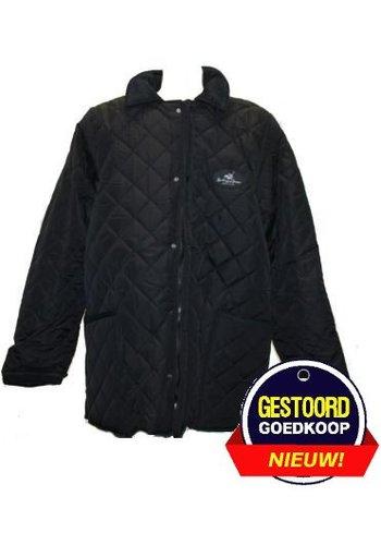 Neckermann Klassieke polo jas zwart