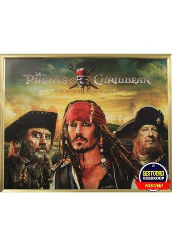 Pirates of the Caribbean Affiche avec liste 55,5x46 cm